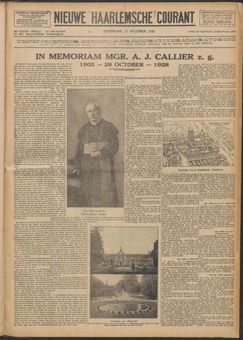 Nieuwe Haarlemsche Courant 1928-10-27