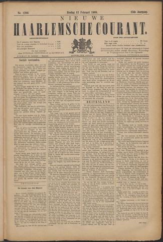 Nieuwe Haarlemsche Courant 1888-02-12