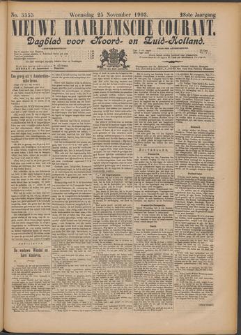 Nieuwe Haarlemsche Courant 1903-11-25