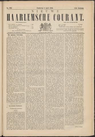 Nieuwe Haarlemsche Courant 1886-04-08