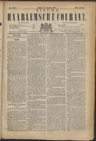 Nieuwe Haarlemsche Courant 1891-11-22