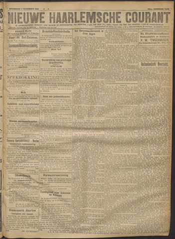 Nieuwe Haarlemsche Courant 1918-12-04