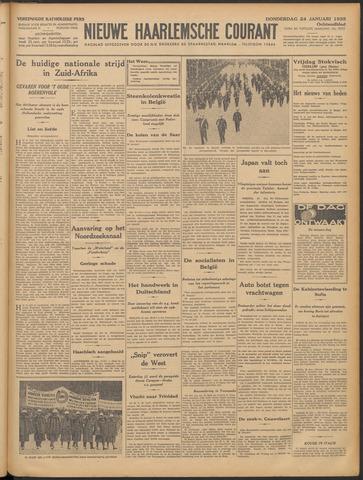 Nieuwe Haarlemsche Courant 1935-01-24