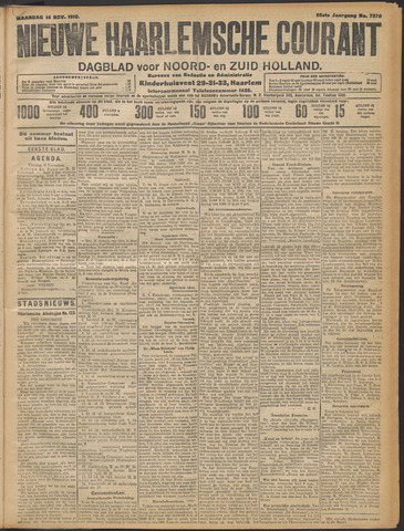 Nieuwe Haarlemsche Courant 1910-11-14
