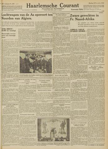 Haarlemsche Courant 1942-11-10