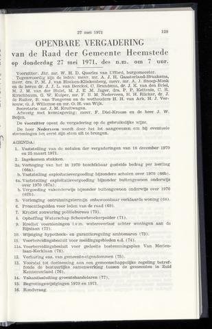 Raadsnotulen Heemstede 1971-05-27