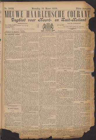 Nieuwe Haarlemsche Courant 1898-03-14