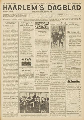 Haarlem's Dagblad 1935-11-22
