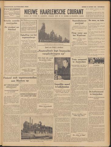Nieuwe Haarlemsche Courant 1939-10-28