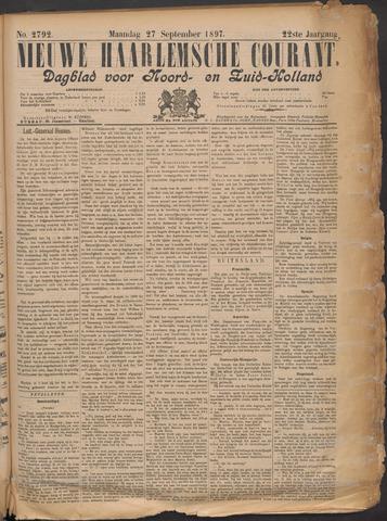 Nieuwe Haarlemsche Courant 1897-09-27