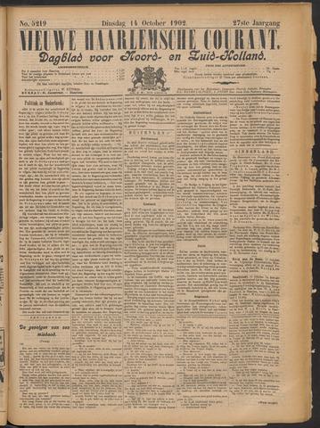 Nieuwe Haarlemsche Courant 1902-10-14
