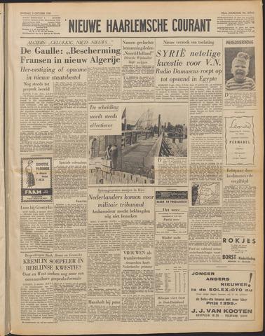 Nieuwe Haarlemsche Courant 1961-10-03