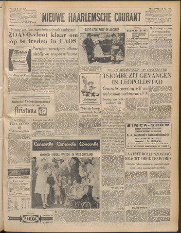 Nieuwe Haarlemsche Courant 1961-05-02