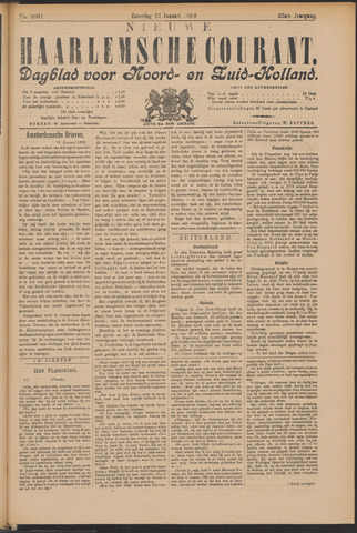 Nieuwe Haarlemsche Courant 1899-01-21