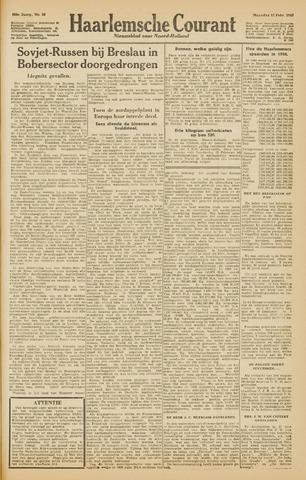 Haarlemsche Courant 1945-02-12