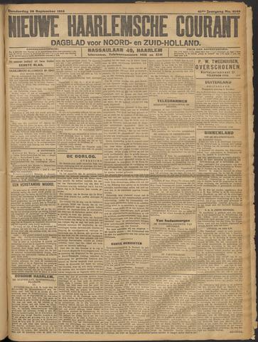 Nieuwe Haarlemsche Courant 1916-09-28