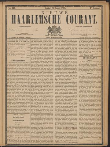Nieuwe Haarlemsche Courant 1879-01-26