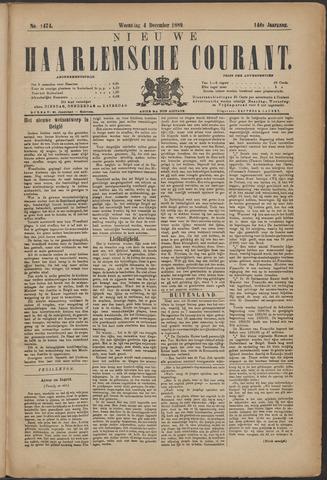 Nieuwe Haarlemsche Courant 1889-12-04
