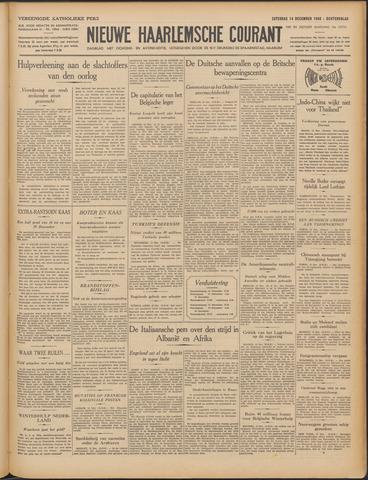 Nieuwe Haarlemsche Courant 1940-12-14