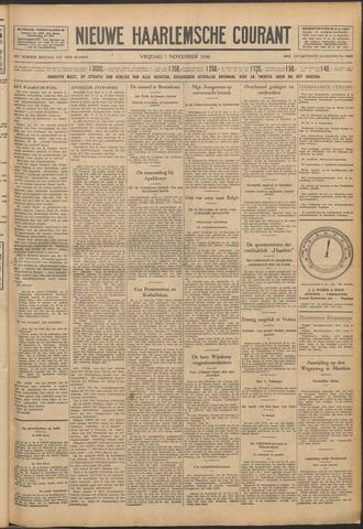 Nieuwe Haarlemsche Courant 1930-11-07