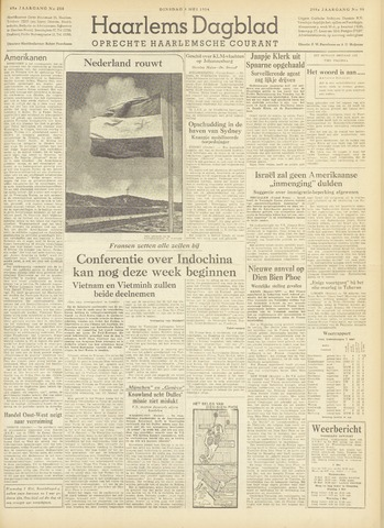 Haarlem's Dagblad 1954-05-04