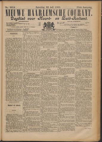 Nieuwe Haarlemsche Courant 1905-07-22