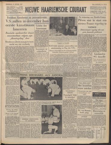 Nieuwe Haarlemsche Courant 1957-10-10