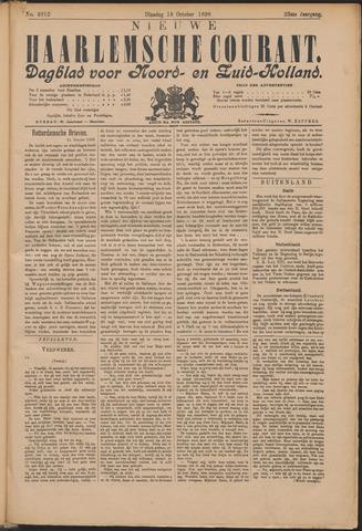 Nieuwe Haarlemsche Courant 1898-10-18