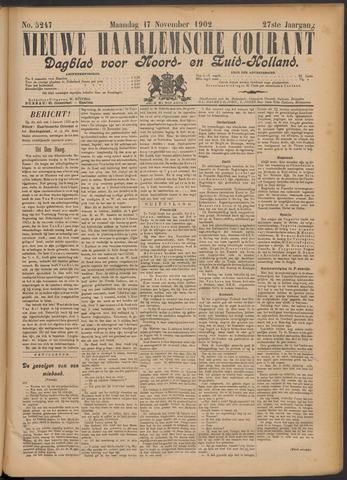 Nieuwe Haarlemsche Courant 1902-11-17