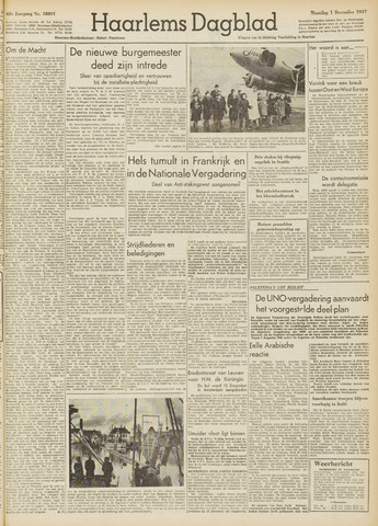 Haarlem's Dagblad 1947-12-01