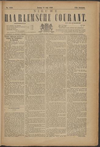 Nieuwe Haarlemsche Courant 1890-06-15