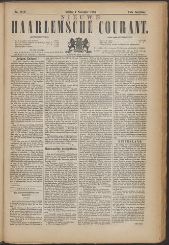 Nieuwe Haarlemsche Courant 1890-11-07
