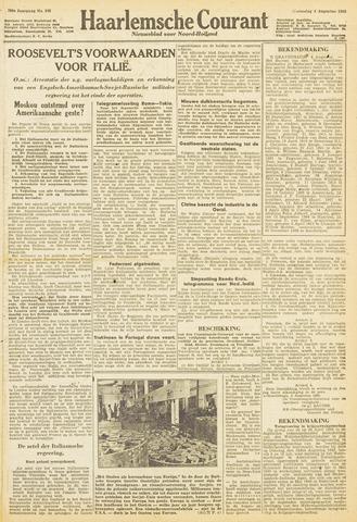 Haarlemsche Courant 1943-08-04
