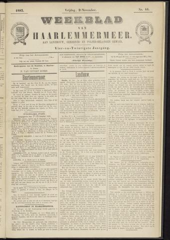 Weekblad van Haarlemmermeer 1883-11-02
