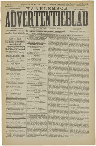 Haarlemsch Advertentieblad 1900-01-13