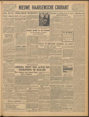 Nieuwe Haarlemsche Courant 1949-10-08
