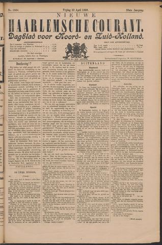 Nieuwe Haarlemsche Courant 1898-04-22