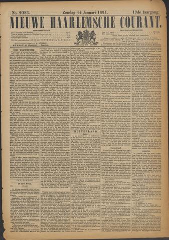 Nieuwe Haarlemsche Courant 1894-01-14