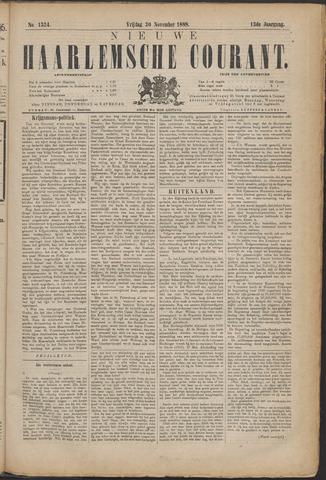 Nieuwe Haarlemsche Courant 1888-11-30