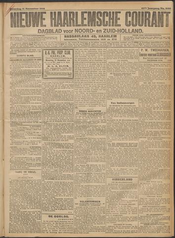 Nieuwe Haarlemsche Courant 1916-11-11