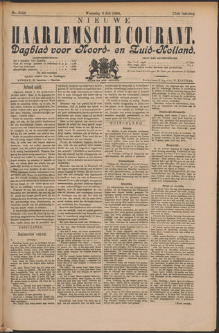 Nieuwe Haarlemsche Courant 1898-07-06