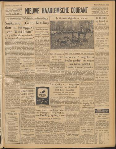 Nieuwe Haarlemsche Courant 1958-11-10