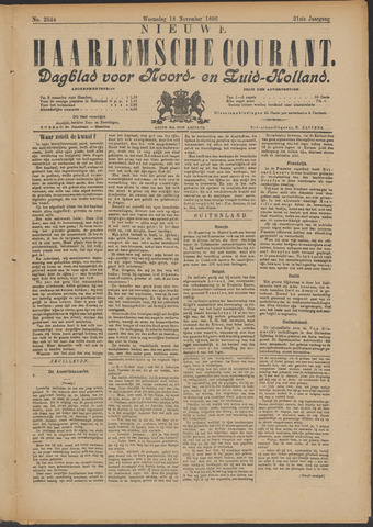 Nieuwe Haarlemsche Courant 1896-11-18