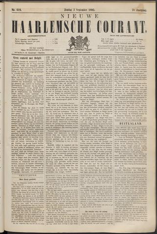 Nieuwe Haarlemsche Courant 1882-09-03