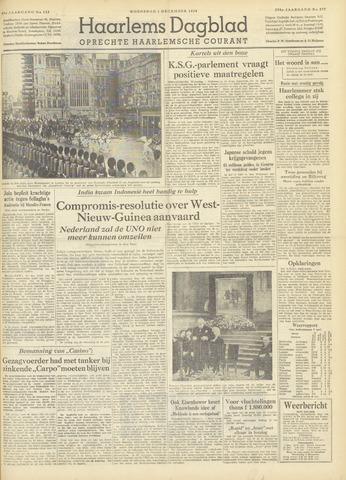 Haarlem's Dagblad 1954-12-01