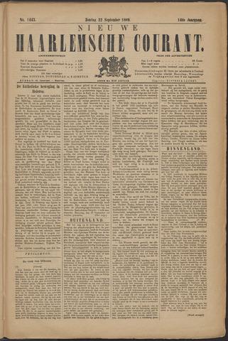 Nieuwe Haarlemsche Courant 1889-09-22