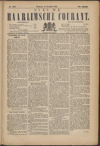Nieuwe Haarlemsche Courant 1889-12-18