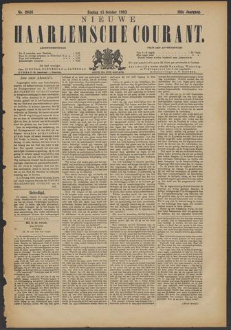 Nieuwe Haarlemsche Courant 1893-10-15