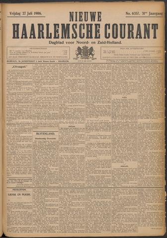 Nieuwe Haarlemsche Courant 1906-07-27
