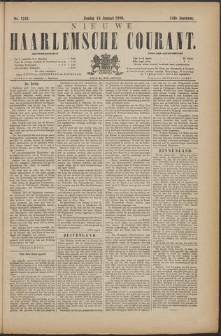 Nieuwe Haarlemsche Courant 1889-01-13